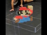 3д рисунок Марио (VIDEO ВАРЕНЬЕ)