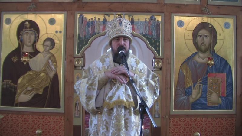 Слово митрополита Савватия в неделю 20-ю по Пятидесятнице, день памяти святых отцев VII Вселенского собора