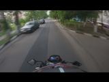 GO Pro съемка с камеры шлема