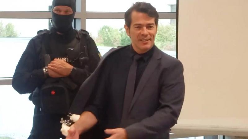 Adrian Ursache Prozessauftakt Halle Landgericht Saal X01 2017