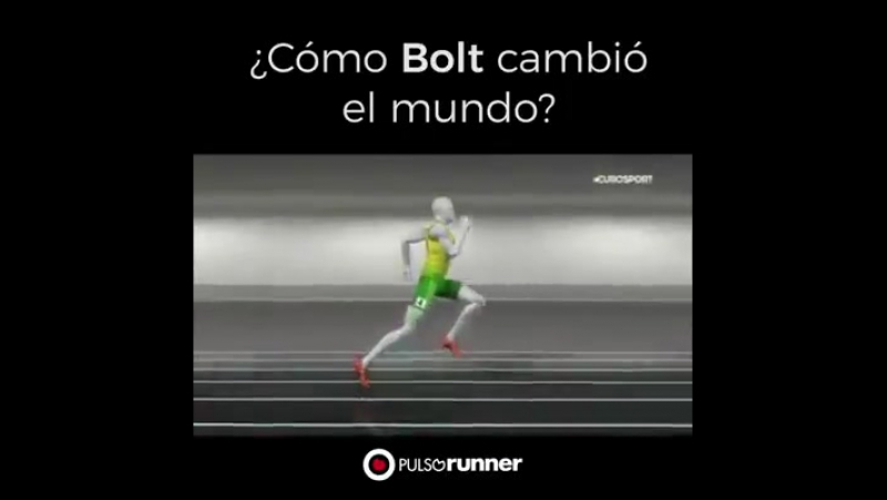 Cómo Usain Bolt creó la historia y se convirtió en el hombre más rápido.