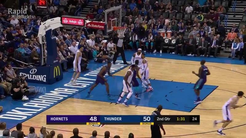 Charlotte Hornets vs OKC Thunder - Full Game Highlights _ Dec 11, 2017 _ NBA Season 2017-18