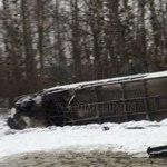 Под Нижним Новгородом произошло смертельное ДТП с автобусом «Москва-Чебоксары» и МАЗом