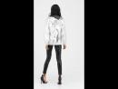 Silver foil jacket