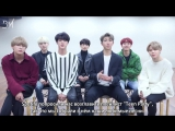 [RUS SUB][29.12.17] BTS Message for Spotify Indonesia