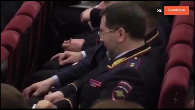 на заседании МВДшников РФ
