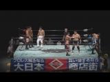 Kouji Takeda, Takumi Tsukamoto, Takuya Nomura vs. Fuminori Abe, Joji Otani, Toru Sugiura (Machida Pro-Wrestling Festival Vol.1)