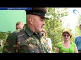 В Демянском районе торжественно открылась военно-историческая экспедиция Северо-Западный фронт