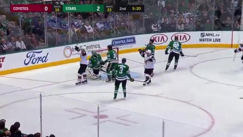 Аризона – Даллас. Обзор матча (Хоккей. НХЛ) 18 октября 2017