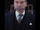 👨 Эркюль Пуаро – обладатель одних из самых роскошных усов во всей Англии. УбийствоВВосточномЭкспрессе Усабрь