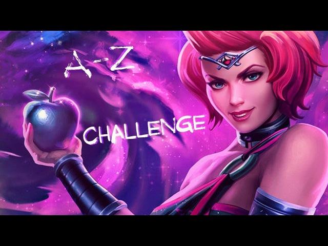 DISCORDIA [A-Z] Challenge | [А-Я] Челлендж | Grandmaster Ranked Duel 1x1