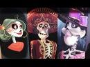 Disney Pixar COCO Concept Art Maquette Display Walt Disney Presents at Disney's Hollywood Studios