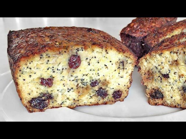 МАКОВЫЙ Кекс с Нутом Нежный как Чизкейк Без муки Chickpeas Cake as Cheesecake Without Flour