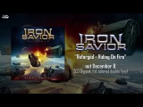 IRON SAVIOR - Riding On Fire (2017) official audio AFM Records