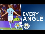 DE BRUYNE STRIKE! Every Angle Kevin De Bruyne Leicester 0-2 Man City