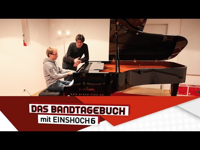 Deutsch lernen mit Musik (B1B2) | Das Bandtagebuch mit EINSHOCH6 | Bastis Klavierwerkstatt