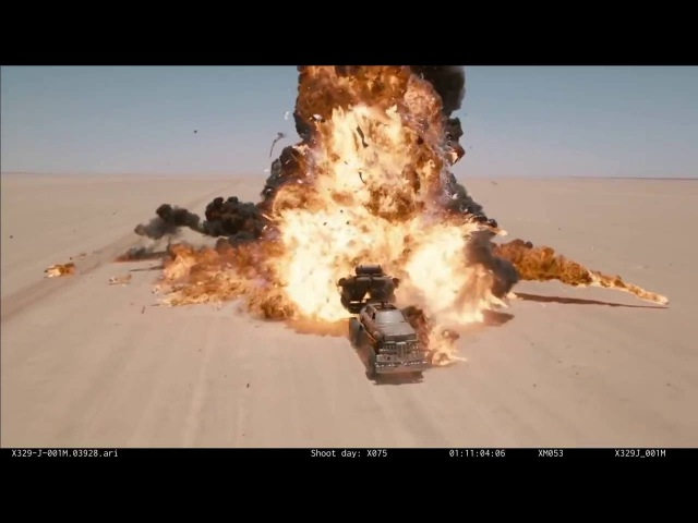 Behind the Scenes of Mad Max: Fury Road Without CG