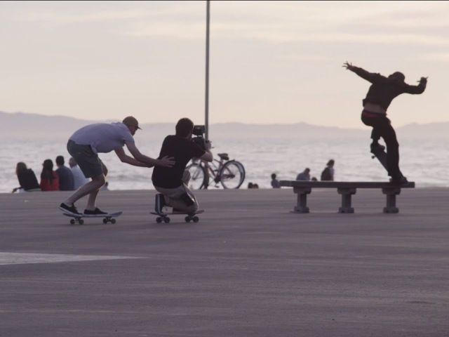 REDirect: 4K BTS Skateboarding shots with RED and The Berrics (Part 2)