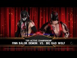 SBW Raw - Finn Balor vs Big Bad Wolf