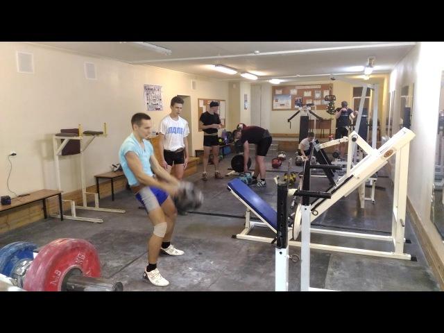 Зуев Владислав, д\ц 32 кг, 2 мин, 23 подъема