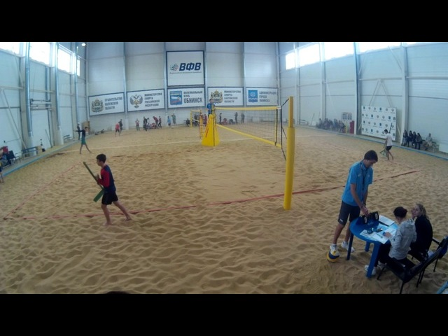 Beach volley Cup U20 Russia 2018 M22 Gorbenko-Ivanov and Saraev-Salmanov