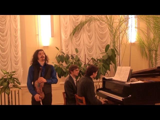 Максим Бабинцев - Махр ал, криптопус для скрипки и фортепиано (2014)