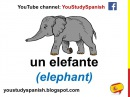 Spanish Lesson 28 - ANIMALS in Spanish Vocabulary for kids Los animales en español para niños