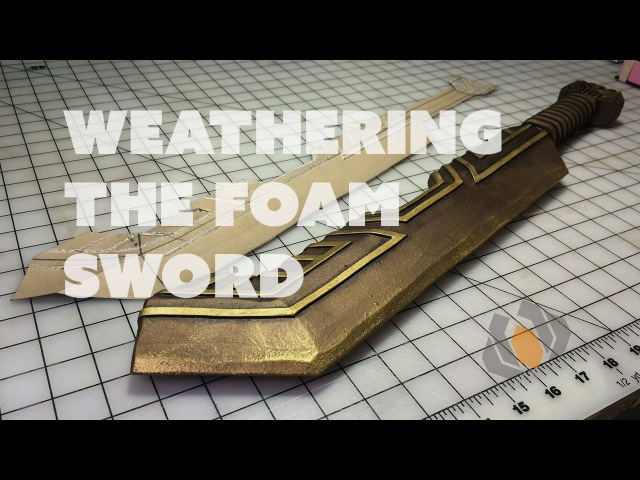 Prop: Live from the Shop - Weathering the Foam Dwarven Sword