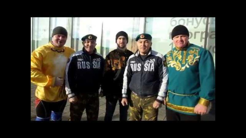 Шоу силачей Богатырская сила Тобольск - Масленица 2018