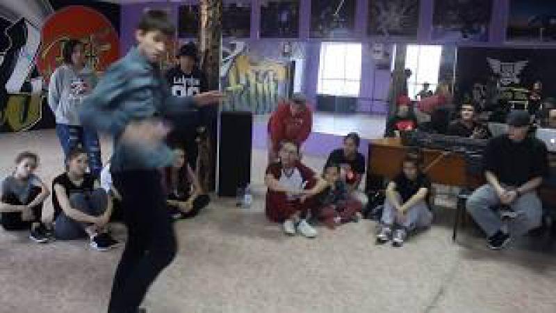 Flyman vs Lilo vs Anuka | Hip Hop Beginners | Global Let's Go 9-10 December
