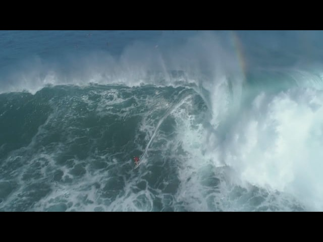 Aerial Video Maui Bombs on Hawaii Pe'ahi Maui Jan 13th 14th 2018