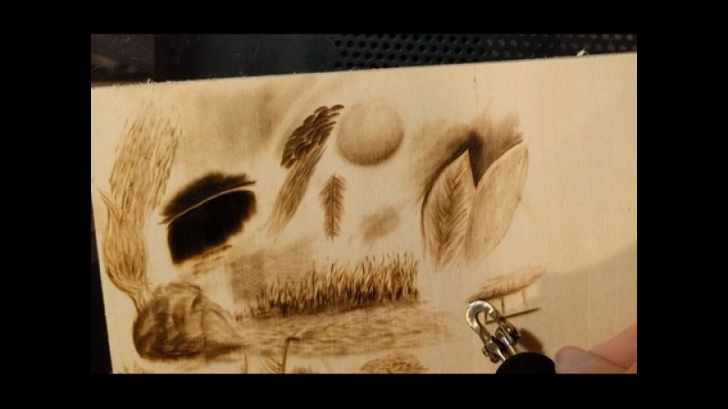 Pyrography (Woodburning) - Real-time textures and techniques.