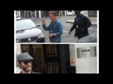 Take That Mark Owen and Howard Donald in London 30 09 2017