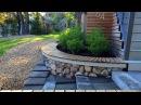 Ландшафтный дизайн. Габионы на садовом участке