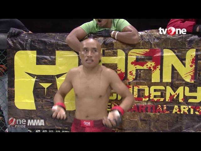 [FULL HD] Jamil Burhan vs Lamhot P. Tambunan - One Pride MMA