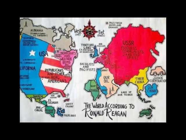 Мир в глазах американцев в разные исторические эпохи