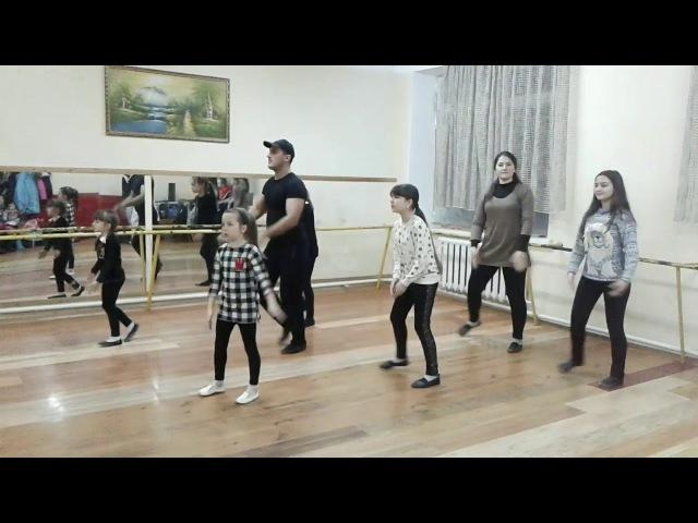 Учим Грузинский танец-