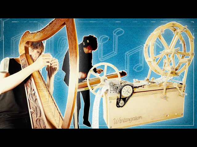 Wintergatan Soundtrack 01 - MUSIC BOX, HARP HACKBRETT