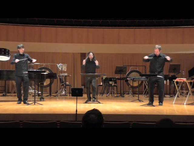 Tlön by Mark Applebaum; Sam Houston Percussion Group