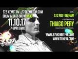 Thiago Pery @ Kemet UK FM 97.5 - hosted by Adam XTC  11-OCT-2017