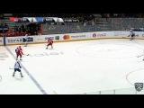 Моменты из матчей КХЛ сезона 16/17 • Гол. 0:1. Столяров Геннадий (Нефтехимик) с третьей попытки забил 14.01