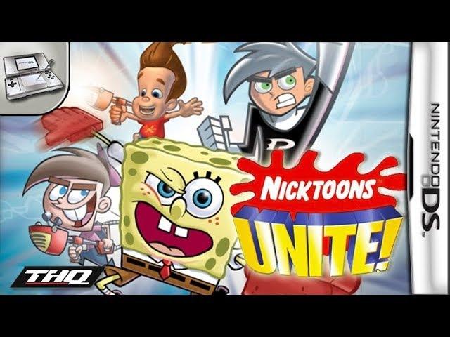 Longplay of Nicktoons Unite!SpongeBob SquarePants and Friends Unite!