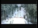 Werbespot Kuh stellt Weltrekord im Skispringen auf