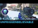 Halo 5 Guardians - 53-0 Unfriggenbelievable Warzone Gameplay with Pistol/BR/DMR/Sniper