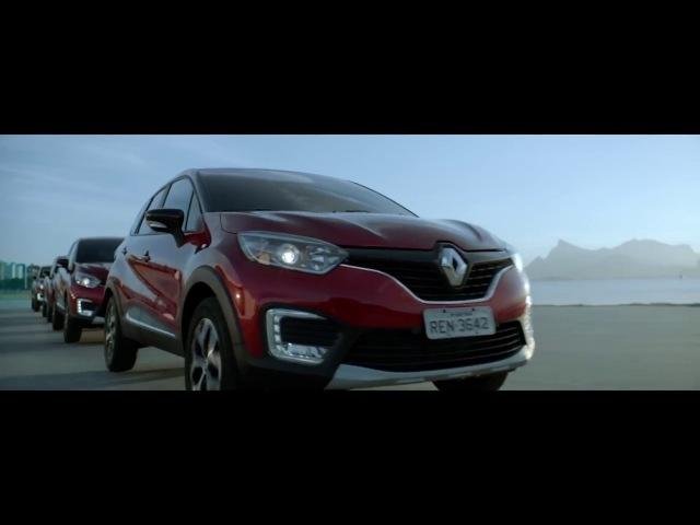 Renault Captur 2017 - Comercial completo no museu de arte