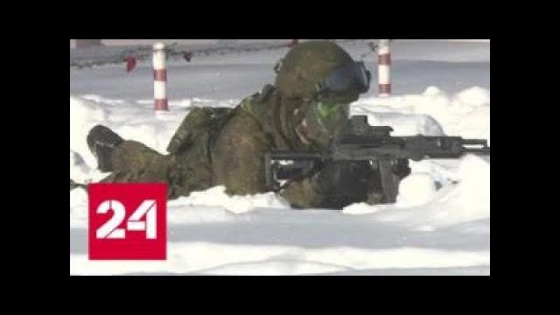 Калашников нового поколения легендарный автомат стал оружием солдат будущего - Россия 24