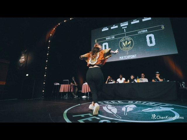 FSF 2017 Championship Sara Cee vs Latisha Dancehall - 1/2 Final