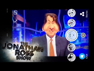 Julianne Moore, Jeff Bridges and Taron Egerton Play With Snapchat Filters - The Jonathan Ross Show