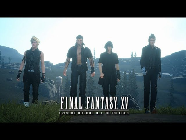 Final Fantasy XV ★ Episode Duscae Demo ★ All Cutscenes Story Gameplay (1080p HD)