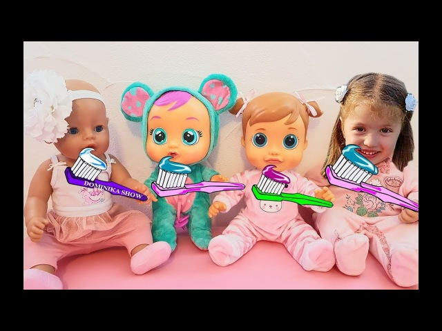 Dominika Little Mommy for Baby doll Are you sleeping Brother John Songs for kids